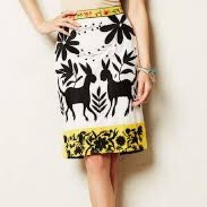 Embroidered Vanessa Virginia skirt